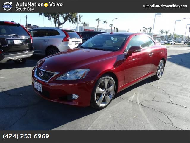 2010 Lexus IS 350C  hill start assist traction control stability control abs 4-wheel keyless