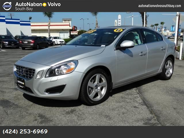 2012 Volvo S60 T5 wMoonroof traction control dynamic stability control abs 4-wheel keyless en