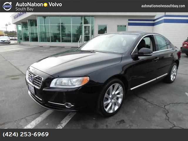 2013 Volvo S80 T6 Premier Plus traction control stability control abs 4-wheel keyless entry a