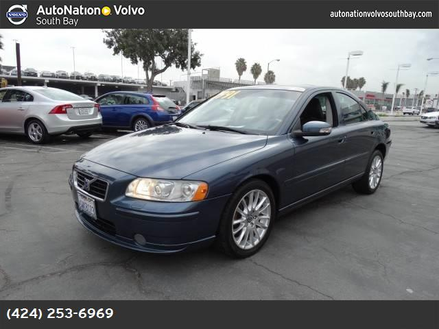 2007 Volvo S60 25L Turbo traction control stability control abs 4-wheel air conditioning pow