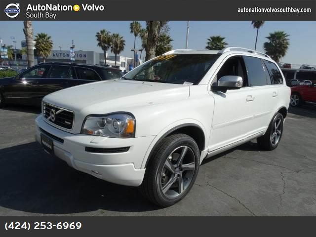 2013 Volvo XC90 R-Design ice white front wheel drive air suspension power steering 4-wheel disc