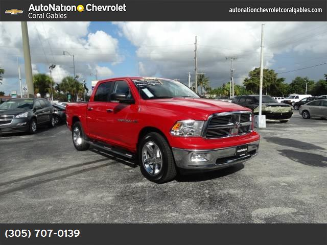 2012 Ram 1500 Big Horn stability control abs 4-wheel air conditioning pwr sldng rear window p