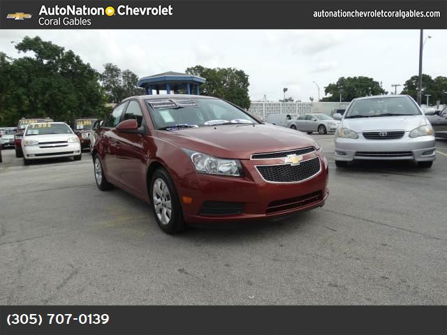 2013 Chevrolet Cruze 1LT traction control stabilitrak abs 4-wheel air conditioning power wind
