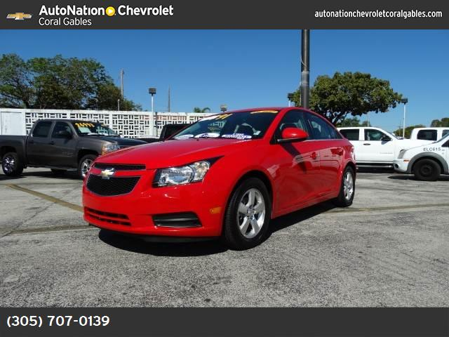 2014 Chevrolet Cruze 1LT traction control stabilitrak abs 4-wheel keyless entry air condition