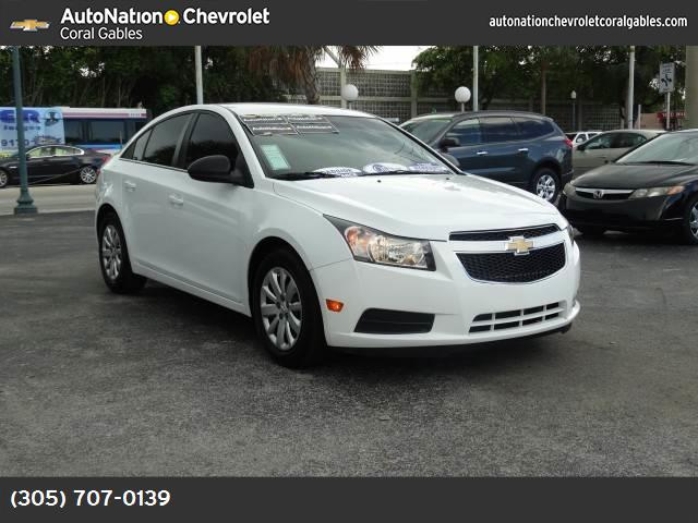 2011 Chevrolet Cruze LS traction control stabilitrak abs 4-wheel keyless entry air conditioni