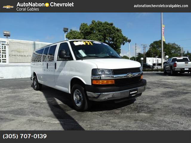 2013 Chevrolet Express Passenger LT appearance pkg traction control stabilitrak abs 4-wheel a