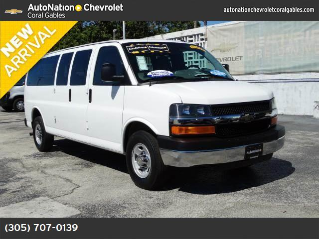 2014 Chevrolet Express Passenger LT appearance pkg traction control stabilitrak abs 4-wheel a