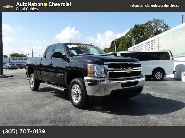 2013 Chevrolet Silverado 2500HD LT hill start assist control traction control stabilitrak abs 4