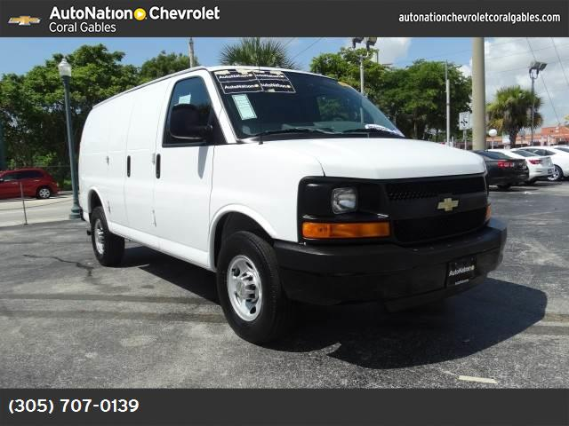 2014 Chevrolet Express Cargo Van  traction control stabilitrak abs 4-wheel air conditioning p
