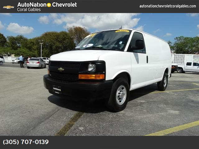 2014 Chevrolet Express Cargo Van  engine  vortec 48l v8 sfi  285 hp  2125 kw    5400 rpm  295