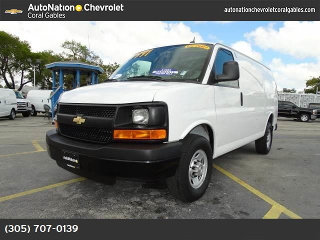2015 Chevrolet Express Cargo Van  traction control stabilitrak abs 4-wheel air conditioning p