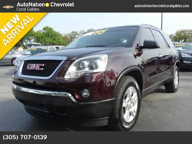 2009 GMC Acadia SLE1 traction control stabilitrak abs 4-wheel keyless entry air conditioning