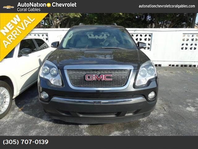 2008 GMC Acadia SLT1 carbon black metallic engine  36l variable valve timing v6 mpfi  275 hp  2