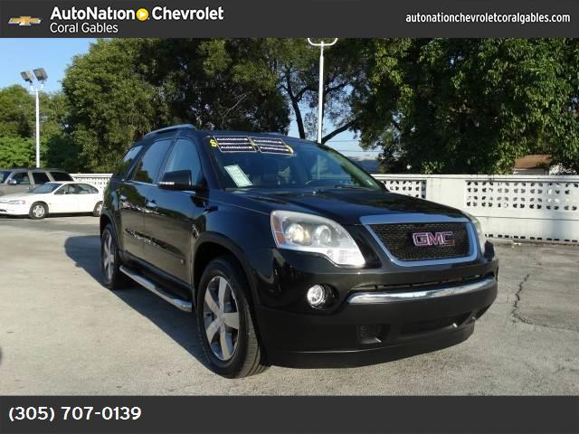 2009 GMC Acadia SLT1 traction control stabilitrak abs 4-wheel keyless entry air conditioning