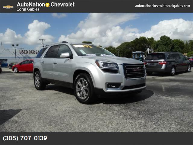 2014 GMC Acadia SLT power liftgate release traction control stabilitrak abs 4-wheel keyless e