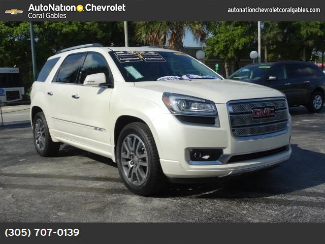 2014 GMC Acadia Denali blind-spot info system power liftgate release technology pkg traction con