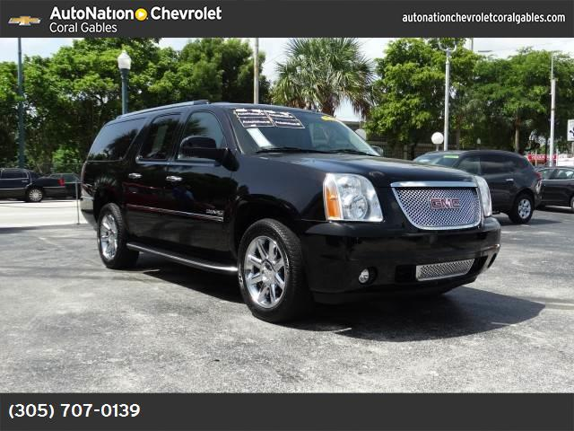 2011 GMC Yukon XL Denali power liftgate release autoride suspension traction control stability c