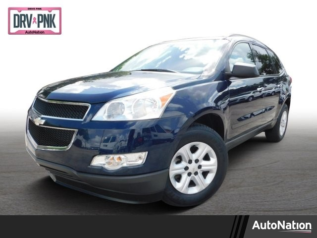 2012 Chevrolet Traverse LS traction control stabilitrak abs 4-wheel air conditioning air cond