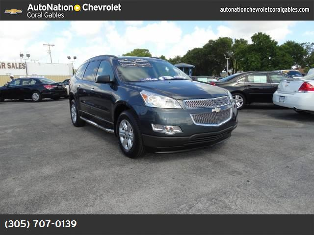 2011 Chevrolet Traverse LS traction control stabilitrak abs 4-wheel air conditioning air cond