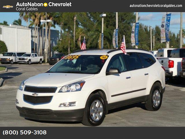 2012 Chevrolet Traverse LS traction control stabilitrak abs 4-wheel keyless entry air conditi