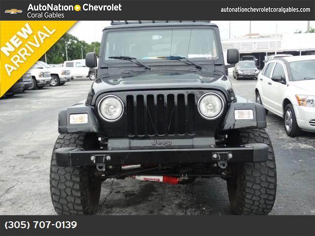 2003 Jeep Wrangler SE 77612 miles VIN 1J4FA29163P335848 Stock  1147261985 11391