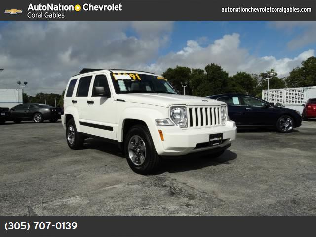 2008 Jeep Liberty Sport traction control stability control abs 4-wheel air conditioning power