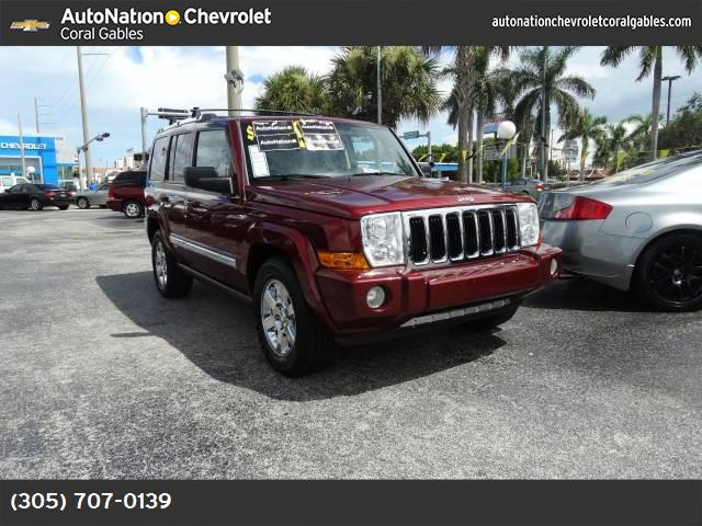2007 Jeep Commander Limited stability control abs 4-wheel air conditioning air cond rear powe