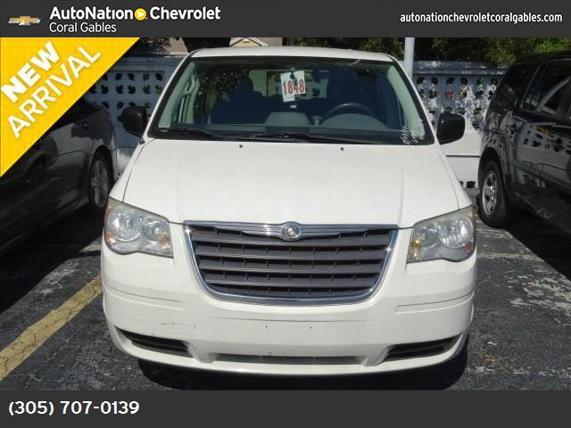 2008 Chrysler Town  Country LX traction control stability control abs 4-wheel air conditionin