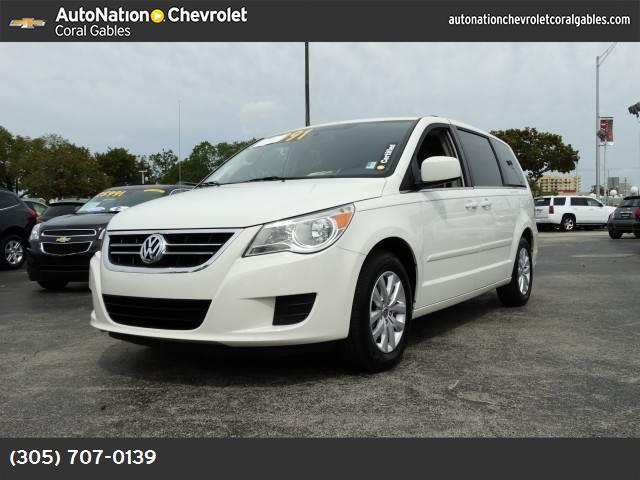 2012 Volkswagen Routan SE european tuned suspension traction control stability control abs 4-wh