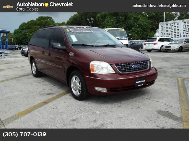 2007 Ford Freestar Wagon SEL abs 4-wheel air conditioning power windows power door locks crui
