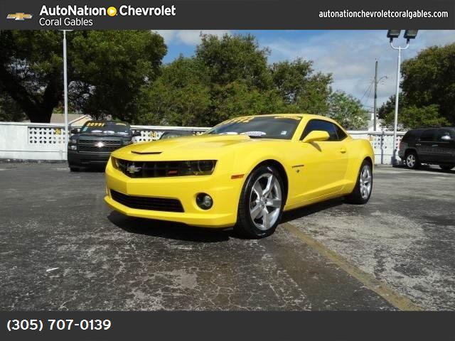 2012 Chevrolet Camaro 2SS 2ss preferred equipment group  includes standard equipment engine  62l