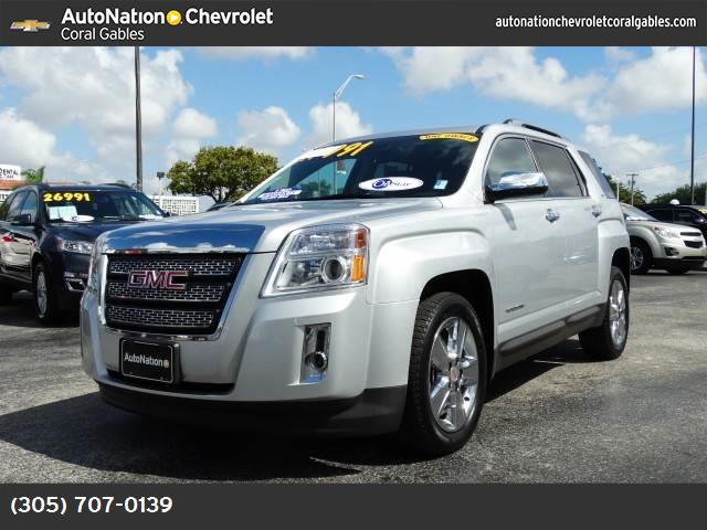 2014 GMC Terrain SLT jet black  perforated leather rear parking aid lane departure warning front