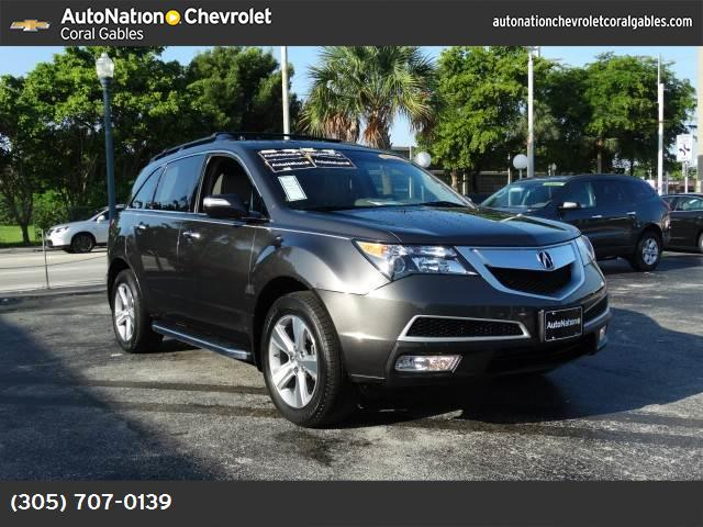 2012 Acura MDX Tech Pkg hill start assist control traction control stability control abs 4-whee