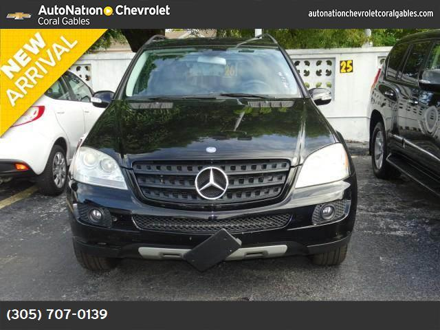 2006 Mercedes M-Class 35L hill descent control traction control stability control abs 4-wheel