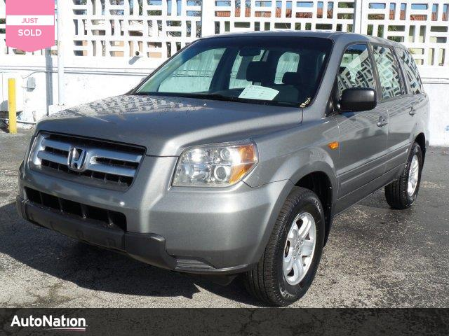 2007 Honda Pilot LX traction control stability control front wheel drive tires - front all-seaso