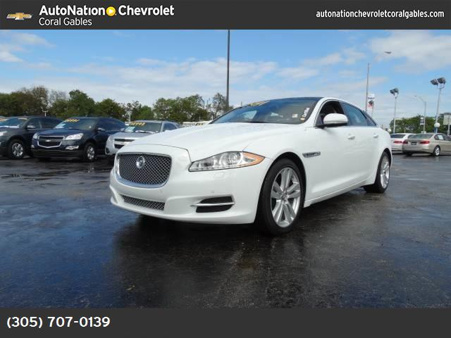 2012 Jaguar XJ XJL blind-spot monitor traction control dynamic stability control abs 4-wheel
