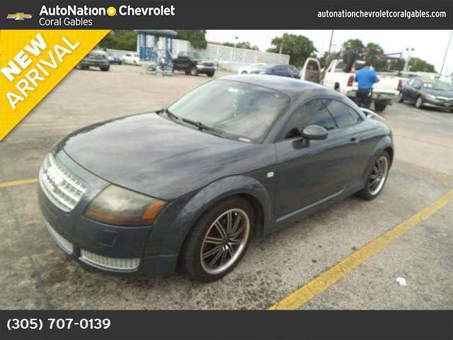 2004 Audi TT  traction control stability control abs 4-wheel air conditioning power windows