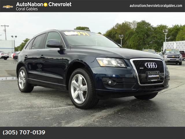 2010 Audi Q5 Premium Plus deep sea blue pearl lockinglimited slip differential all wheel drive