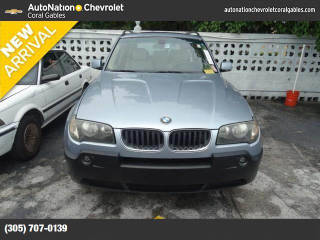 2005 BMW X3 30i hill descent control stability control abs 4-wheel air conditioning power wi