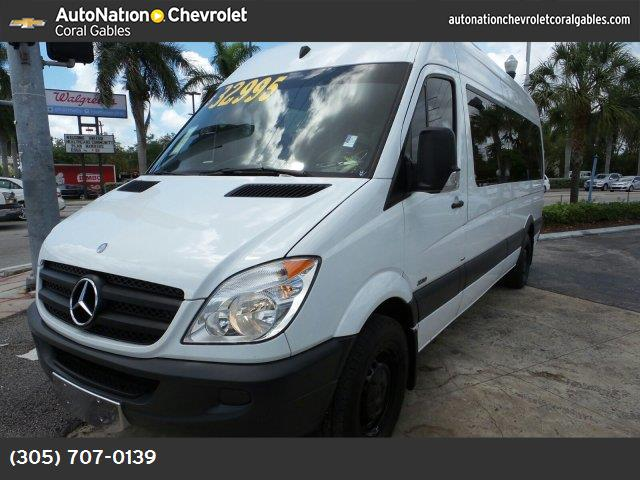 2011 Mercedes Sprinter Passenger Vans  turbocharged rear wheel drive tow hooks power steering 4
