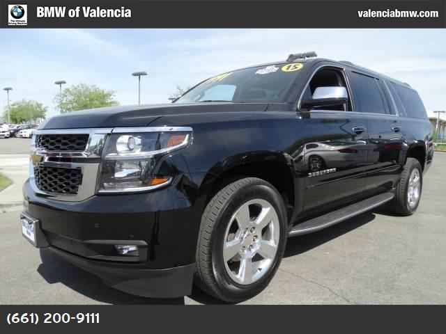 2015 Chevrolet Suburban LTZ black engine  53l v8 ecotec3 with active fuel management  direct inje