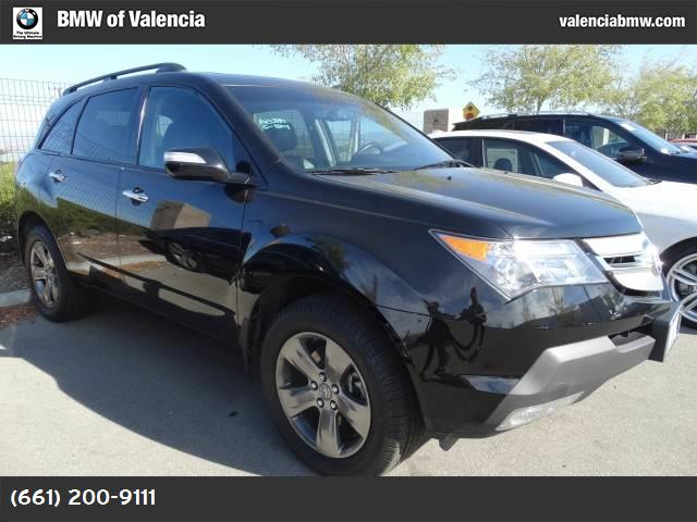 2009 Acura MDX Sport Pkg traction control stability control abs 4-wheel keyless entry air con