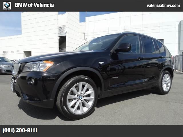 2013 BMW X3 xDrive28i black  nevada leather seat trim bmw apps  -inc smartphone integration bmw