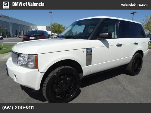 2008 Land Rover Range Rover SC luxury pkg 4-corner suspension hill descent control traction cont