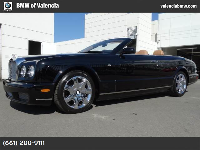 2007 Bentley Azure  abs 4-wheel air conditioning power door locks cruise control power steeri