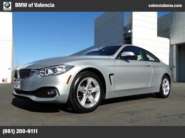 2015 BMW 4 Series 428i xDrive glacier silver metallic turbocharged all wheel drive power steerin