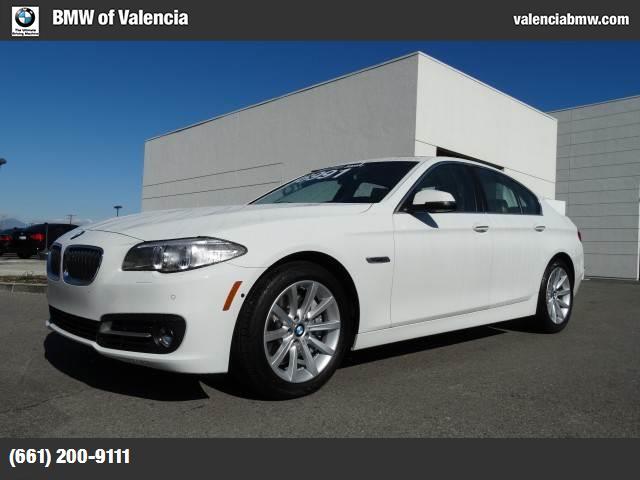 2015 BMW 5 Series 535i turbocharged rear wheel drive power steering abs 4-wheel disc brakes br