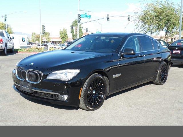 2012 BMW 7 Series 750i traction control stability control abs 4-wheel keyless entry keyless s