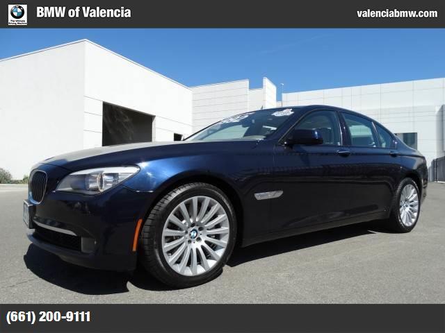 2012 BMW 7 Series 750i head-up display hud high gloss black shadowline exterior trim luxury sea