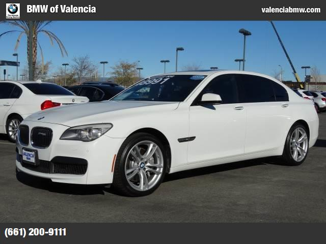 2012 BMW 7 Series 750Li traction control stability control abs 4-wheel keyless entry keyless